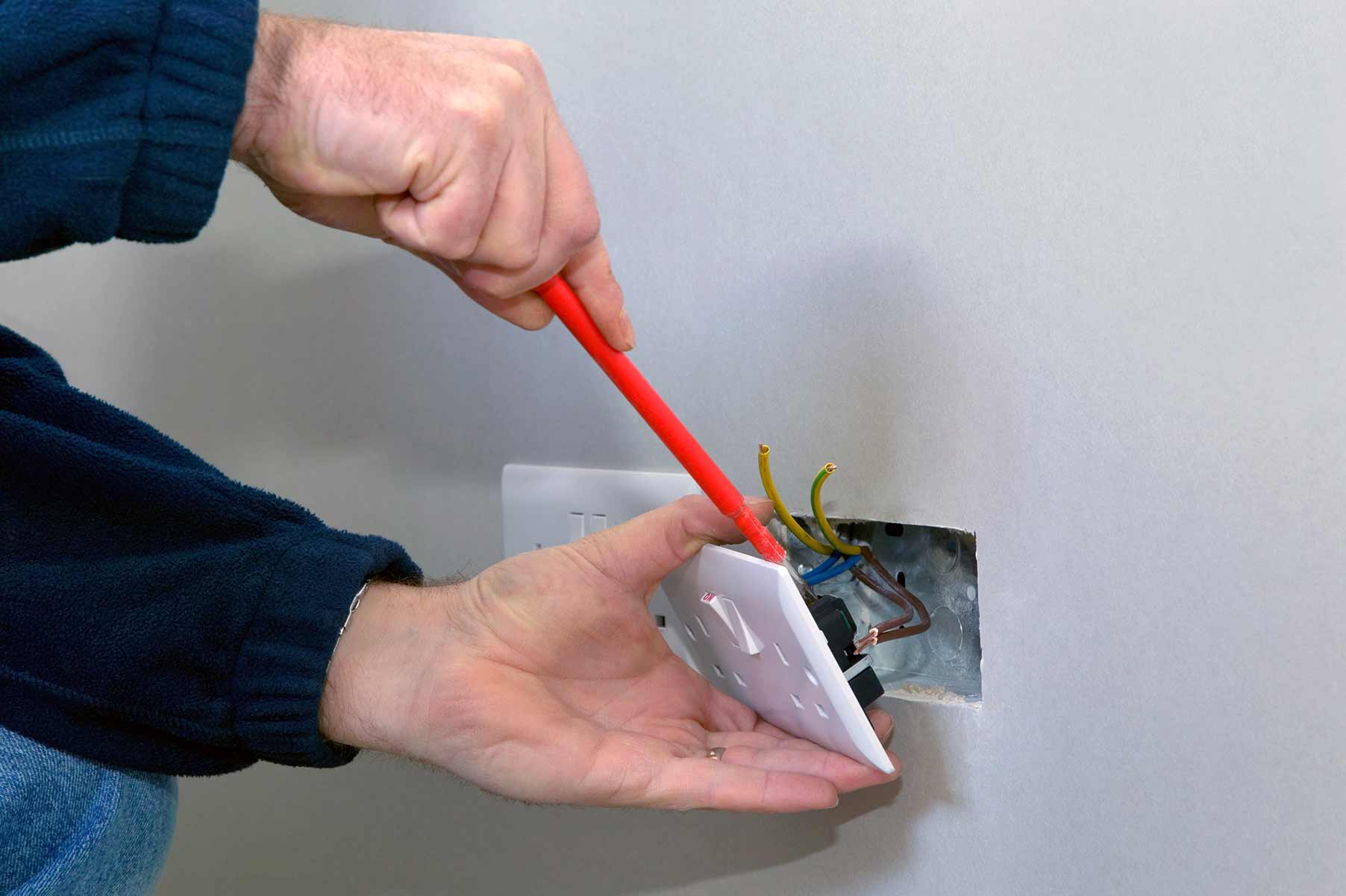 Our electricians can install plug sockets for domestic and commercial proeprties in Kidbrooke and the local area.